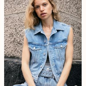 NWT Agolde Reworked 90s Revival Vest